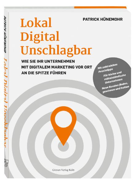 Buchcover Lokal Digital Unschlagbar von Patrick Hünemohr