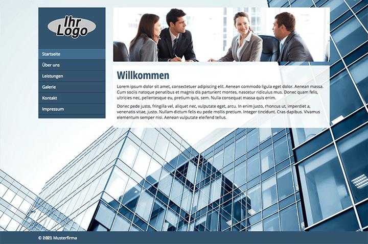 Basic Homepage Template 1
